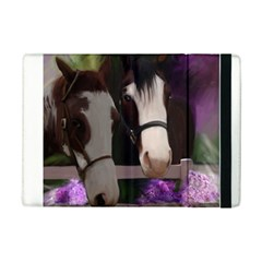 Two Horses Apple Ipad Mini 2 Flip Case by JulianneOsoske