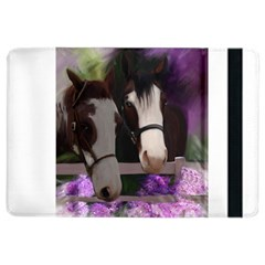 Two Horses Apple Ipad Air 2 Flip Case by JulianneOsoske