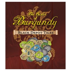 Castles Of Burgondy   Black Depot   Medium By Snark   Drawstring Pouch (medium)   Q4dg200sxa9p   Www Artscow Com Front