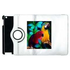 Two Friends Apple Ipad 3/4 Flip 360 Case by JulianneOsoskeFeathers