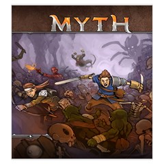 Mythbag By Dean   Drawstring Pouch (large)   2nk7c5426adi   Www Artscow Com Front