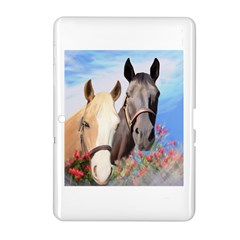 Miwok Horses Samsung Galaxy Tab 2 (10 1 ) P5100 Hardshell Case  by JulianneOsoske