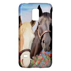 Miwok Horses Samsung Galaxy S5 Mini Hardshell Case  by JulianneOsoske