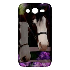 Two Horses Samsung Galaxy Mega 5 8 I9152 Hardshell Case  by JulianneOsoske