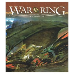 War Of The Ring Bag By Stuart Finlay   Drawstring Pouch (medium)   35aecq9oxno8   Www Artscow Com Back