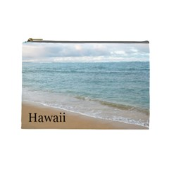 Hawaii By Stacy Judd   Cosmetic Bag (large)   Ysfa76b0bkhu   Www Artscow Com Front