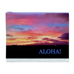 Aloha By Stacy Judd   Cosmetic Bag (xl)   C7s5qkmzwijo   Www Artscow Com Front