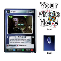 King The Gamma Quadrant By Max   Playing Cards 54 Designs (rectangle)   W1arm8w3ypy4   Www Artscow Com Front - HeartK