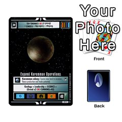 The Gamma Quadrant By Max   Playing Cards 54 Designs (rectangle)   W1arm8w3ypy4   Www Artscow Com Front - Diamond9