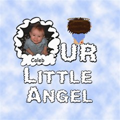Our Little Angel Boy 8x8 Scrapbook Pages By Chere s Creations   Scrapbook Page 8  X 8    1kuuhok1xiev   Www Artscow Com 8 x8 Scrapbook Page - 1