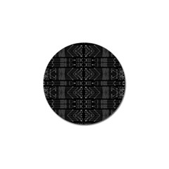 Black And White Tribal  Golf Ball Marker 4 Pack by dflcprints