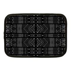 Black and White Tribal  Netbook Sleeve (Medium)