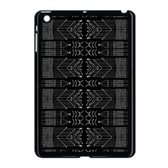 Black and White Tribal  Apple iPad Mini Case (Black) by dflcprints