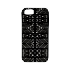 Black and White Tribal  Apple iPhone 5 Classic Hardshell Case (PC+Silicone)
