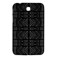 Black And White Tribal  Samsung Galaxy Tab 3 (7 ) P3200 Hardshell Case  by dflcprints