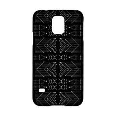Black And White Tribal  Samsung Galaxy S5 Hardshell Case  by dflcprints