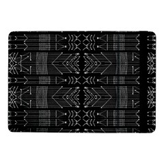 Black And White Tribal  Samsung Galaxy Tab Pro 10 1  Flip Case by dflcprints