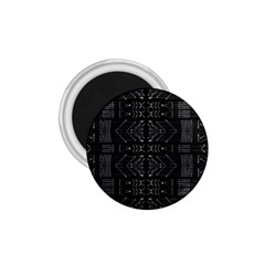 Black And White Tribal  1 75  Button Magnet by dflcprints