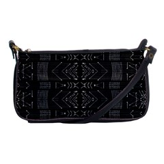 Black And White Tribal  Evening Bag by dflcprints