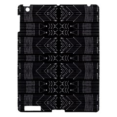 Black And White Tribal  Apple Ipad 3/4 Hardshell Case by dflcprints