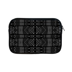 Black And White Tribal  Apple Ipad Mini Zippered Sleeve by dflcprints