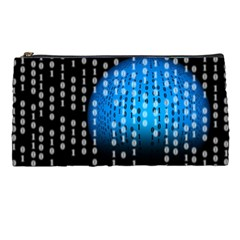 Binary Rain Pencil Case