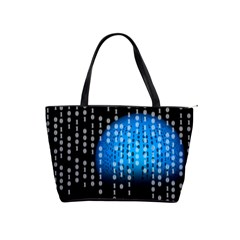 Binary Rain Large Shoulder Bag