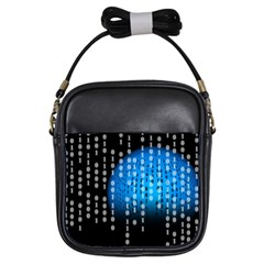 Binary Rain Girl s Sling Bag