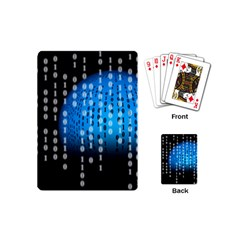 Binary Rain Playing Cards (mini)