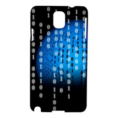 Binary Rain Samsung Galaxy Note 3 N9005 Hardshell Case