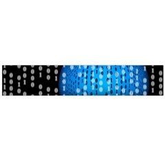 Binary Rain Flano Scarf (large) by StuffOrSomething