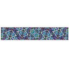 Colorful Geometric Print Flano Scarf (large) by dflcprintsclothing