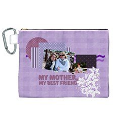 Mothers Day By Mom   Canvas Cosmetic Bag (xl)   Zuc3rez6o948   Www Artscow Com Front