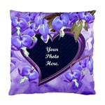 Purple Bleedingheart 2 Standard Cushion Case - Standard Cushion Case (One Side)