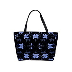 Futuristic Geometric Design Large Shoulder Bag by dflcprints