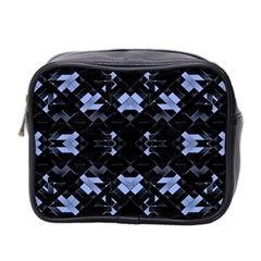 Futuristic Geometric Design Mini Travel Toiletry Bag (two Sides) by dflcprints