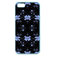 Futuristic Geometric Design Apple Seamless Iphone 5 Case (color) by dflcprints