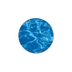 Water  Golf Ball Marker 4 Pack by vanessagf