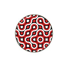 Waves And Circles Hat Clip Ball Marker (10 Pack) by LalyLauraFLM