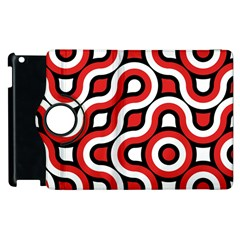 Waves And Circles Apple Ipad 3/4 Flip 360 Case by LalyLauraFLM