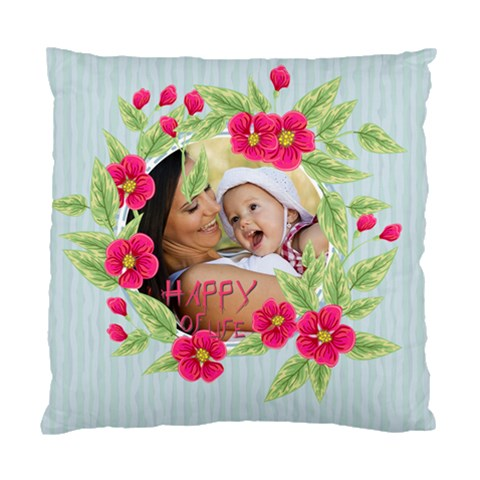 Flower Kids By X   Standard Cushion Case (one Side)   3wyzbnqs3o30   Www Artscow Com Front