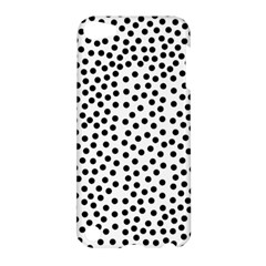 Black Polka Dots Apple Ipod Touch 5 Hardshell Case by Justbyjuliestore