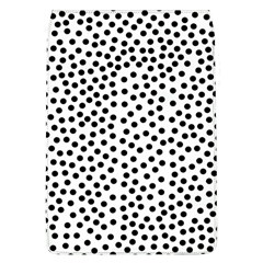 Black Polka Dots Removable Flap Cover (large) by Justbyjuliestore