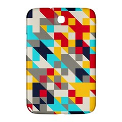 Colorful Shapes Samsung Galaxy Note 8 0 N5100 Hardshell Case  by LalyLauraFLM