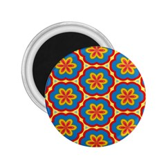 Floral Pattern 2 25  Magnet by LalyLauraFLM