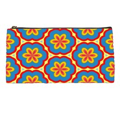 Floral Pattern Pencil Case by LalyLauraFLM