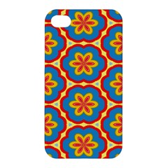 Floral Pattern Apple Iphone 4/4s Hardshell Case by LalyLauraFLM