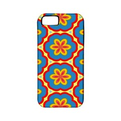 Floral Pattern Apple Iphone 5 Classic Hardshell Case (pc+silicone) by LalyLauraFLM