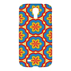 Floral Pattern Samsung Galaxy S4 I9500/i9505 Hardshell Case by LalyLauraFLM