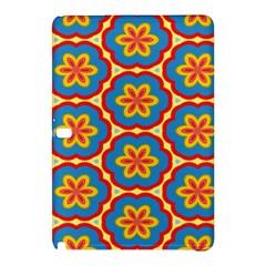 Floral Pattern Samsung Galaxy Tab Pro 10 1 Hardshell Case by LalyLauraFLM